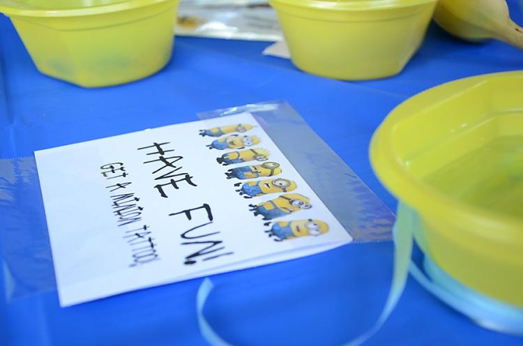 Minions Birthday Party  (13)