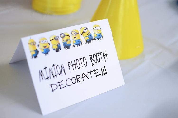 Minions Birthday Party  (26)