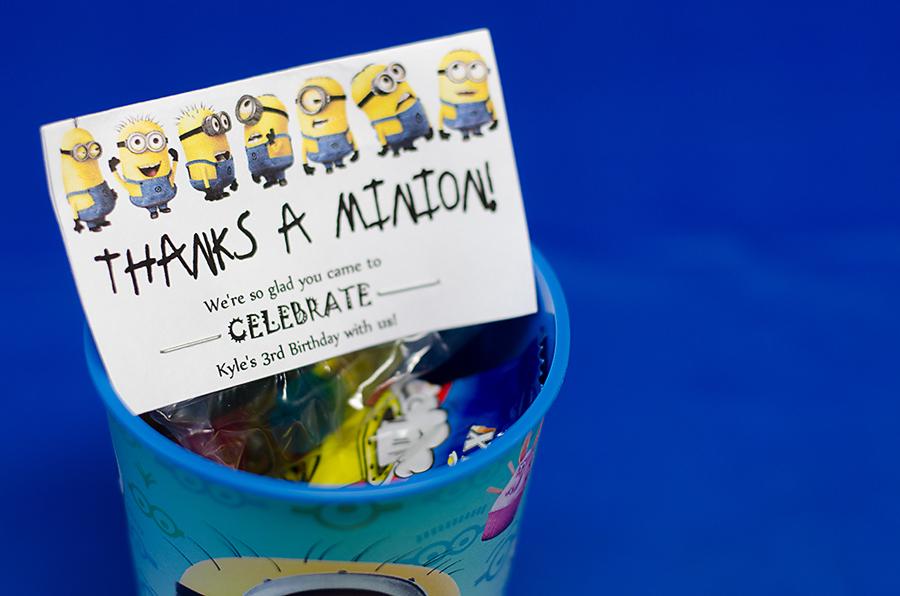 Minions Birthday Party  (3)
