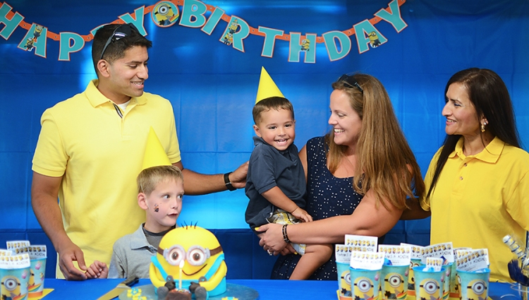 Minions Birthday Party  (40)